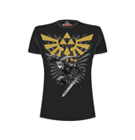 Legend of Zelda T-Shirt Zelda Warrior black