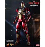 Iron Man 3 Movie Masterpiece Action Figure 1/6 Iron Man Mark 17 Heartbreaker 30 cm