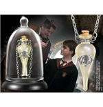 Harry Potter Felix Felicis Pendant and Display