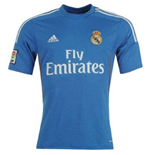 2013-14 Real Madrid Adidas Away Football Shirt