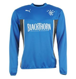 2013-14 Rangers Puma Sweat Top (Blue) - Kids