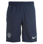 2013-14 Man Utd Away Nike Football Shorts (Kids)