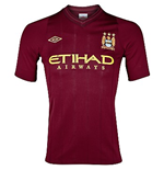 2012-13 Man City Away Umbro Football Shirt (Kids)