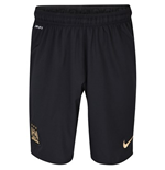 2013-14 Man City Away Nike Football Shorts