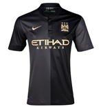 2013-14 Man City Away Nike Shirt (Kids)