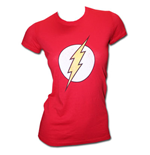 The FLASH Logo Red Juniors Graphic T-Shirt