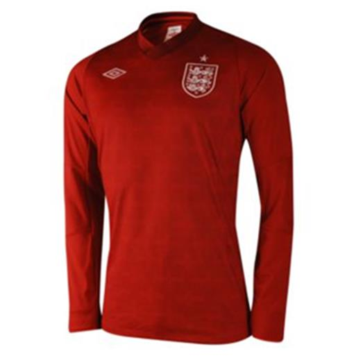 2012-13 England Euro 2012 Long Sleeve GK Shirt (Kids)