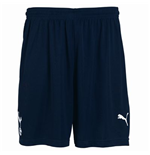 2011-12 Tottenham Home Shorts (Navy) - Kids