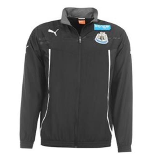 2013-14 Newcastle Puma Woven Jacket (Black) - Kids