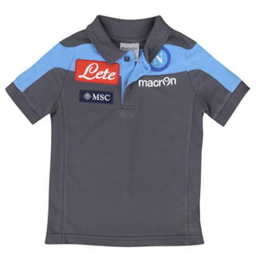 2012-13 Napoli Official Cotton Polo Shirt (Navy)