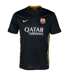2013-14 Barcelona Third Nike Football Shirt (Kids)