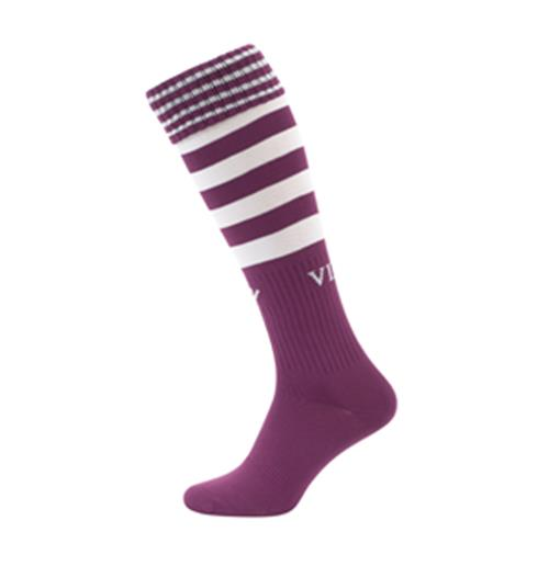 2013-14 Aston Villa Away Football Socks