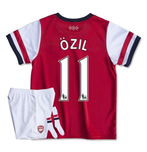 huge discount dd391 f32d1 2013-14 Arsenal Home Mini Kit (Ozil 11)