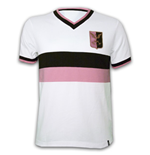 Palermo Away 1970's Short Sleeve Retro Shirt 100% cotton