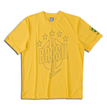 2010-11 Brazil Nike Core Polyester T-Shirt (Yellow)